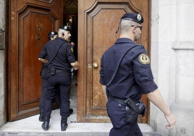 La guardia civil cree que cdc y sus fundaciones ten an una for Juzgados el vendrell