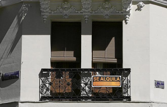 El 84% de los pisos alquilados tiene una renta inferior a 750 euros al mes