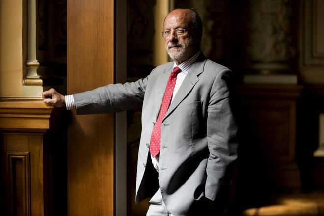 El ex alcalde de Valladolid Francisco Javier León de la Riva, en una...