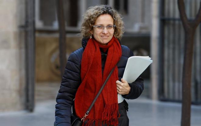 La consellera de Ensenyament, Meritxell Ruiz