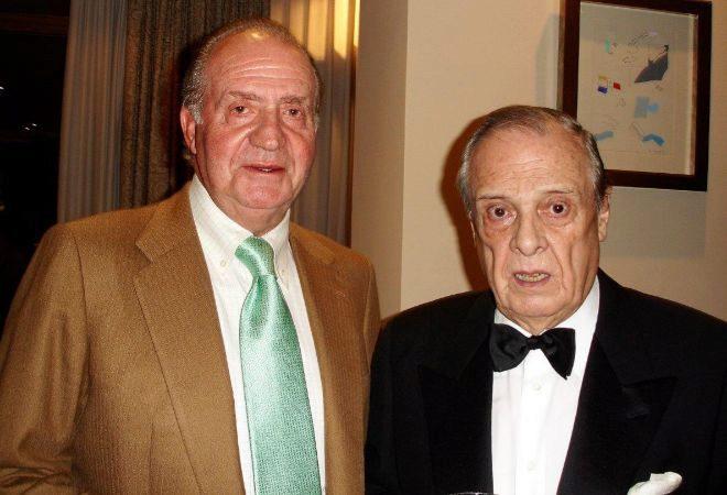 El Rey Juan Carlos y Sabino Fernández Campo.