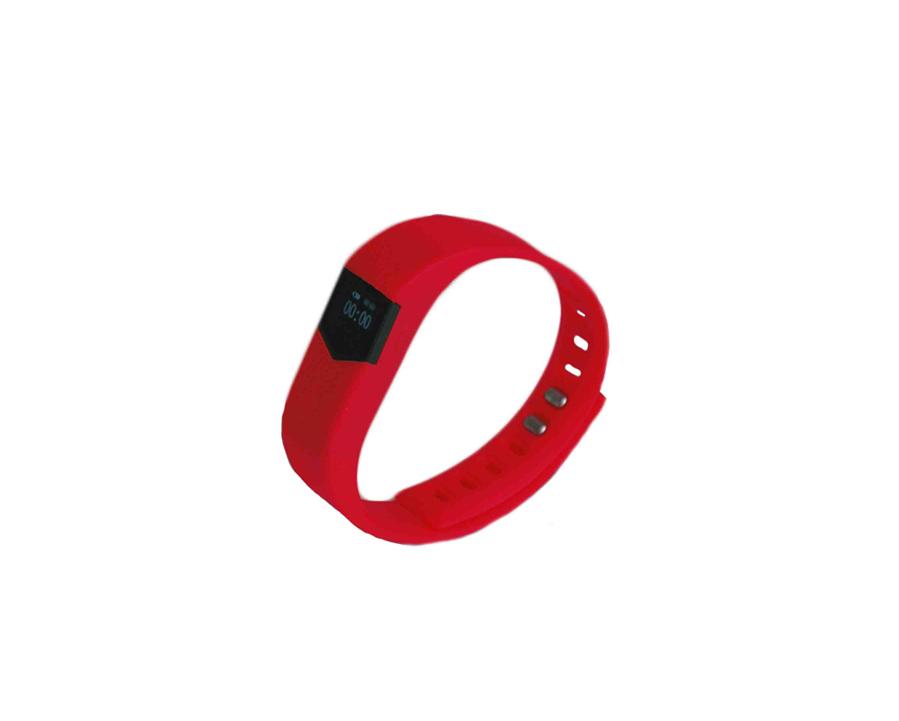Disponible en rojo y negro, con una correa de silicona impermeable,...