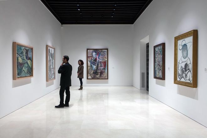 Экспозиция в музее Пикассо в Барселоне