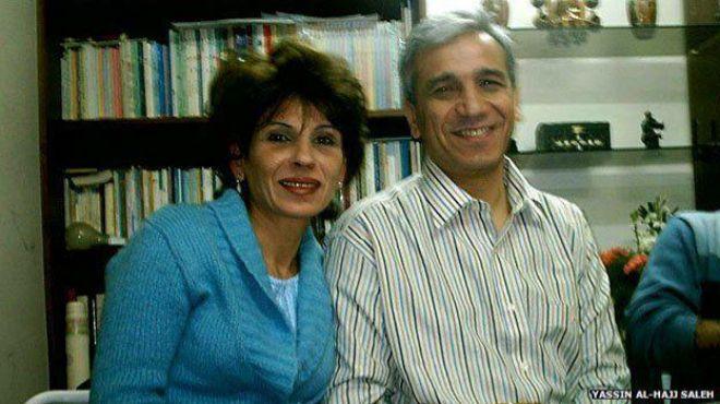 Samira Khalil y su marido Yassin Al-Haj Saleh.