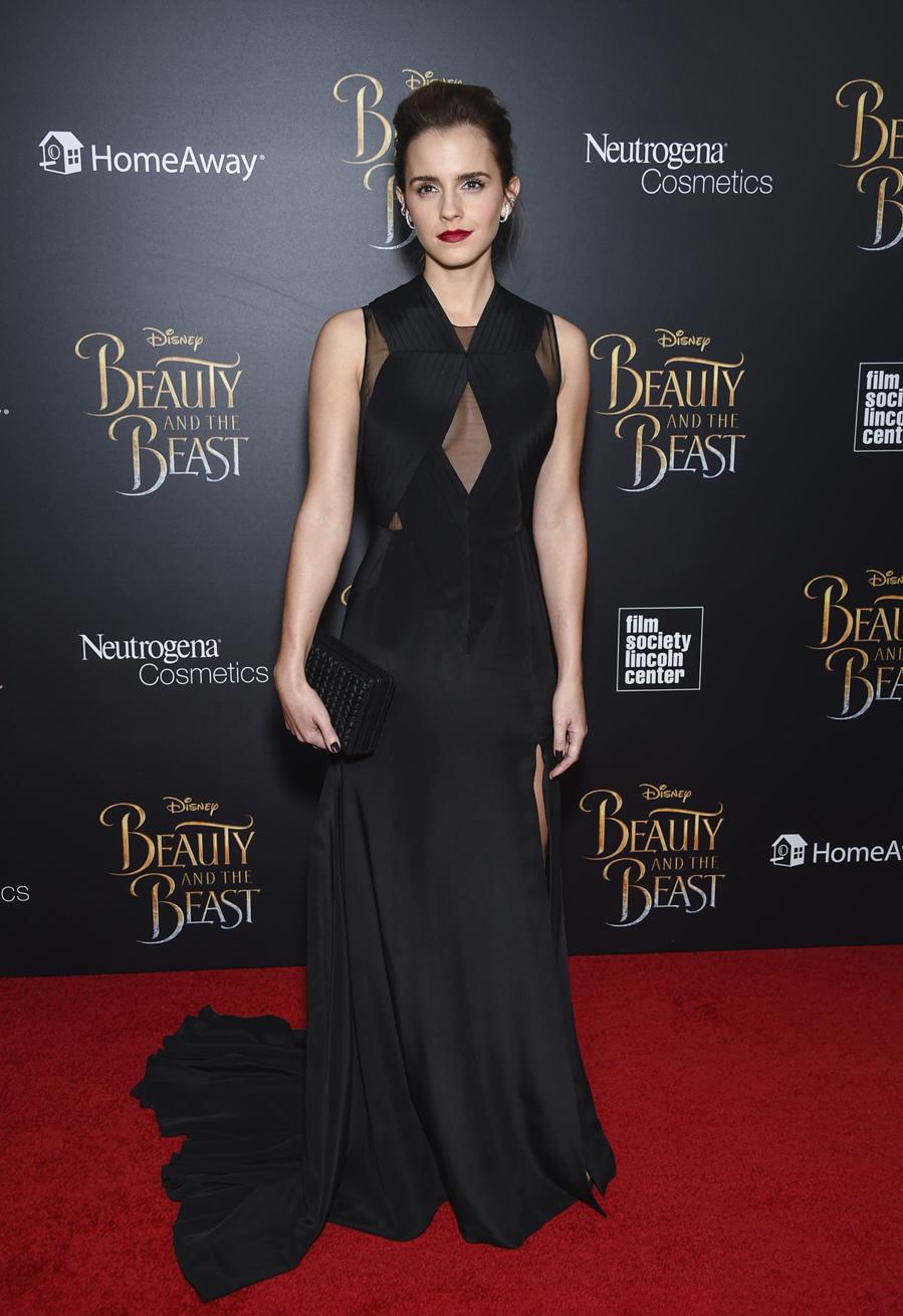 La actriz de Disney escogió este vestido con transparencias de...