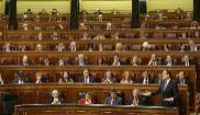 Intervención de Mariano Rajoy durante la Sesión de control celebrada...