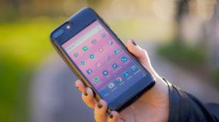 Esta funda de iPhone es un teléfono Android