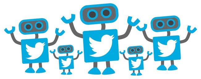 Un 15% de los usuarios de Twitter son bots