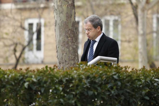 El director general adjunto de Supervisión del Banco de España, Pedro Comín, acude a la Audiencia Nacional.