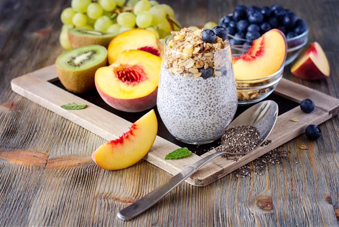 un desayuno sano y nutritivo