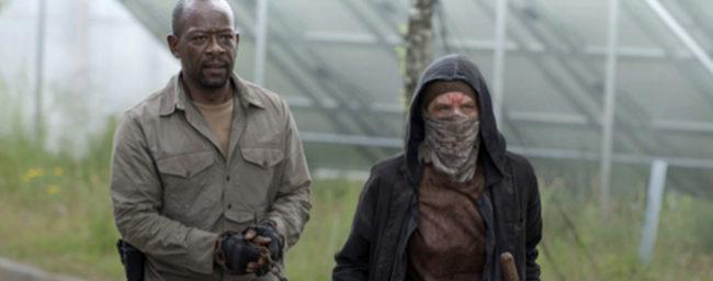 Imagen de la serie estadounidense 'The walking dead'.