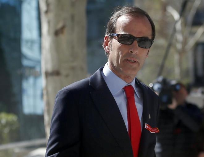 El inspector del Banco de España, José Antonio Casaus.