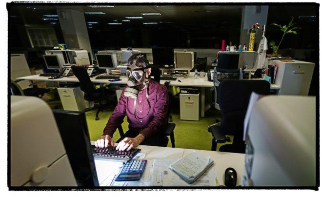 El puesto de trabajo es uno de los lugares donde la calidad del aire...