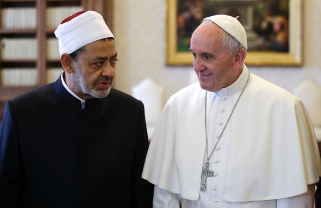 Resultado de imagen de francisco en egipto