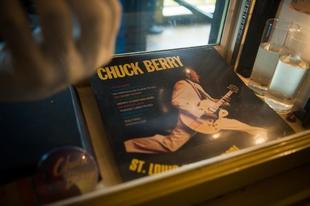 Uno de los discos de Chuck Berry.