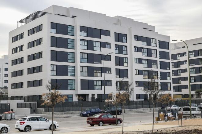 La cifra de viviendas terminadas encadena nueve años en negativo