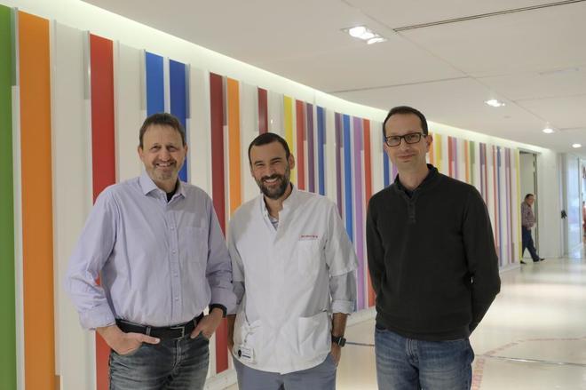 Joan Bertran, Lucas Krauel y José Antonio Tornero trabajan para sacar adelante la propuesta de Cebiotex.