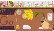 Google da la bienvenida al equinoccio de primavera con un doodle