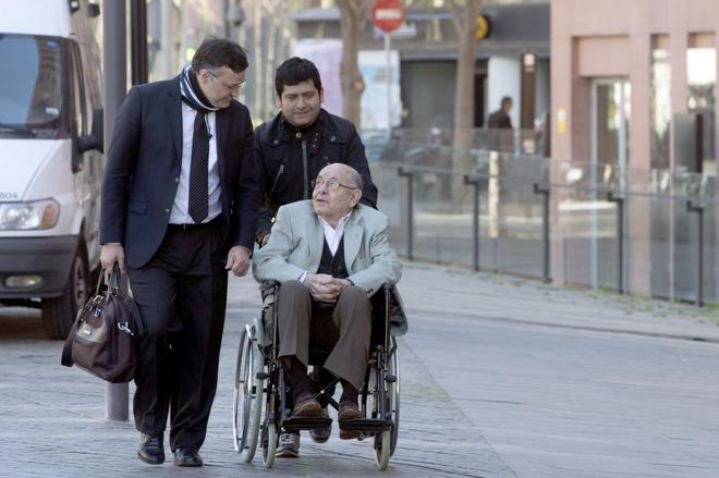 Fèlix Millet a su llegada a los juzgados