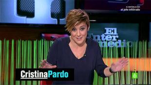 La periodista Cristina Pardo.