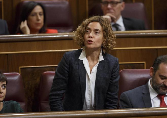 La diputada del PSC Meritxell Batet, en el Congreso de los Diputados.
