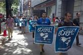 Concentración en Bilbao por los derechos de los presos de ETA.