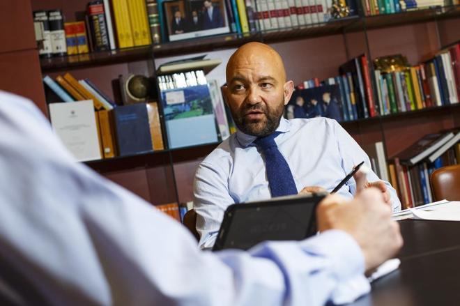 Jaime Garcia Legaz, presidente de CESCE