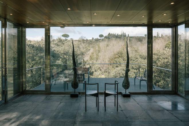 vista desde la terraza de la vivienda