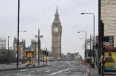Vista general del Parlamento británico en Londres
