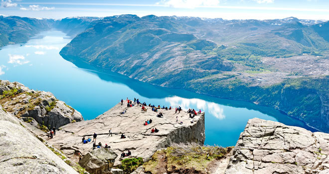 Bienvenidos a Noruega, el país más feliz del mundo