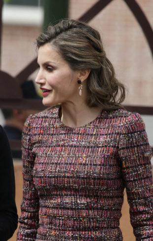 Peinados de primavera de la Reina Letizia