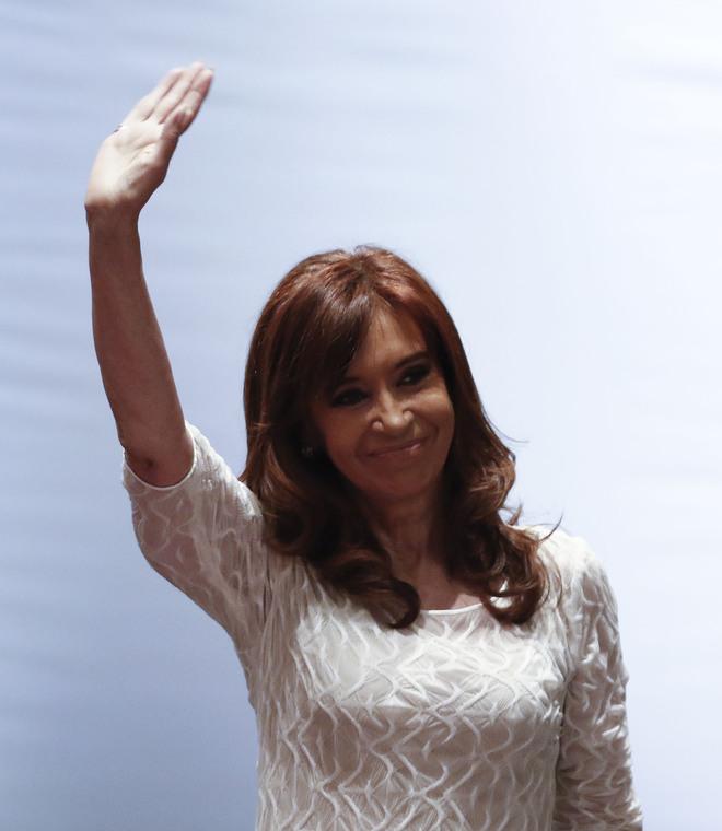 Cristina Kirchner en una imagen de archivo.