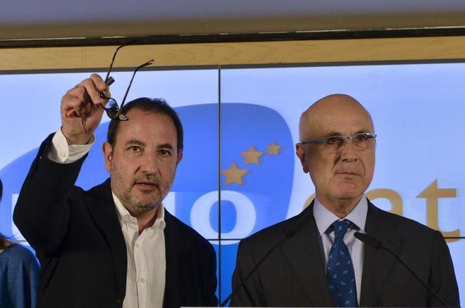 Ramon Espadaler y Josep Antoni Duran i Lleida en una foto de archivo.