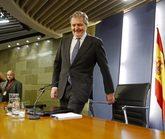 El portavoz del Gobierno, Íñigo Méndez de Vigo, este viernes en...