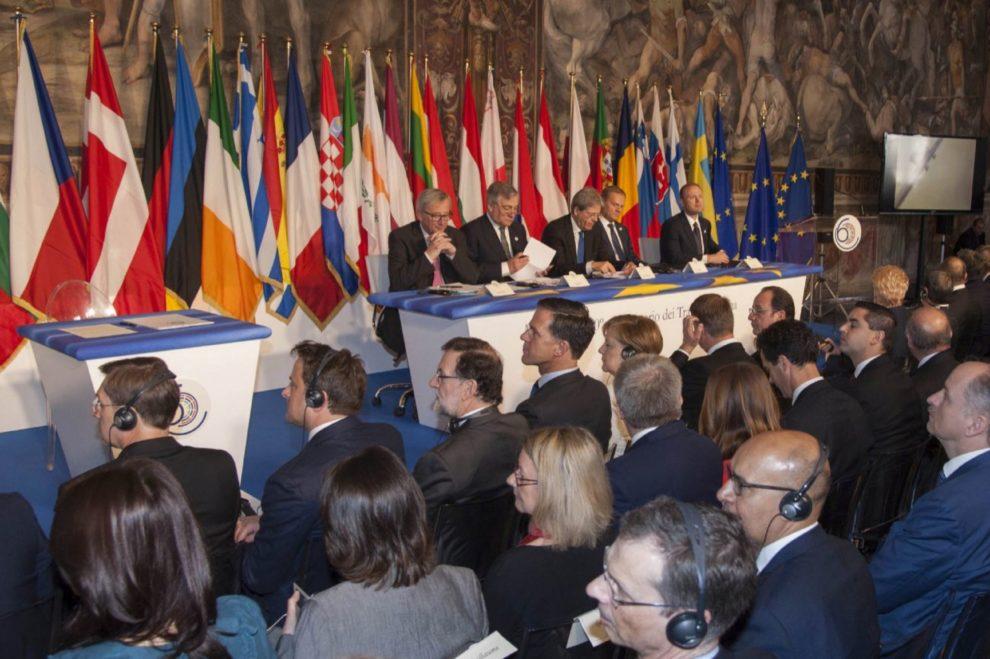 27 Líderes europeos se reúnen en la cumbre