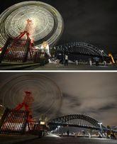 Australia ya ha comenzado su hora del planeta. Sydney fue la...