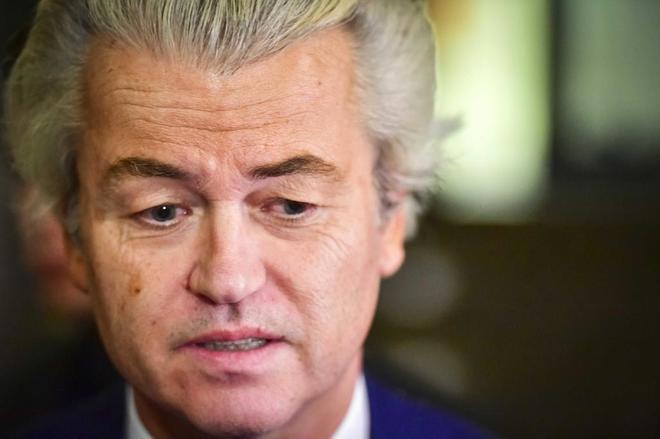 El líder del Partido por la Libertad (PVV), Geert Wilders.