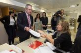 El secretario general del PSOE murciano, Rafael González Tovar, el...