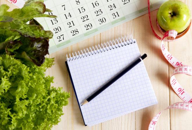 objetivo realista de pérdida de peso por un mes