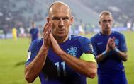 Robben, tras perder ante Bulgaria por 2-0 en duelo clasificatorio para el Mundial.