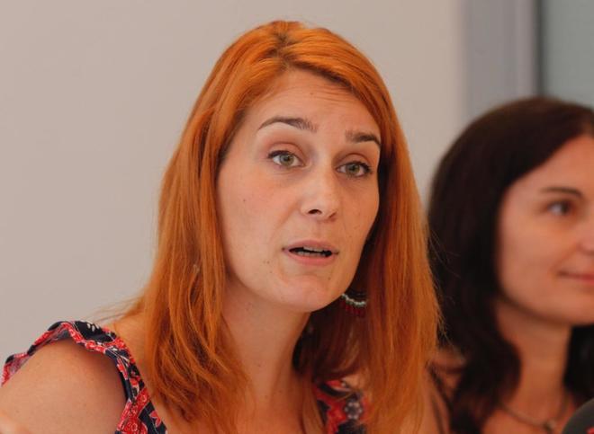 Jèssica Albiach, candidata a la dirección de los 'comuns'