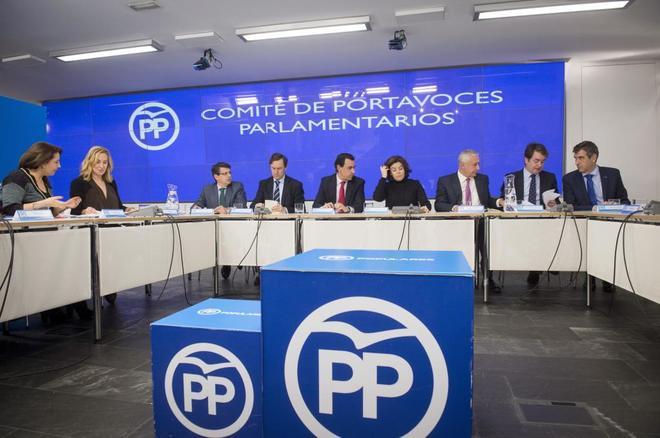 Fernando Martínez-Maíllo preside la reunión del Comité de...