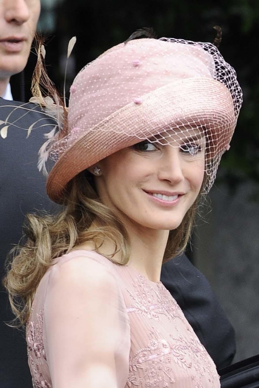 En 2011, acudió a la boda de Guillermo de Inglaterra y Kate Middleton...