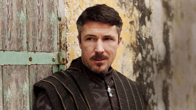 El actor Aidan Gillen, en el papel de Petyr Baelish en la serie 'Juego...