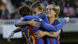 Las chicas del Barcelona también hacen historia