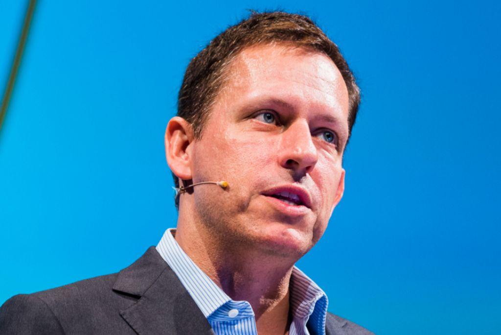 Peter Thiel, filósofo y fundador de PayPal.