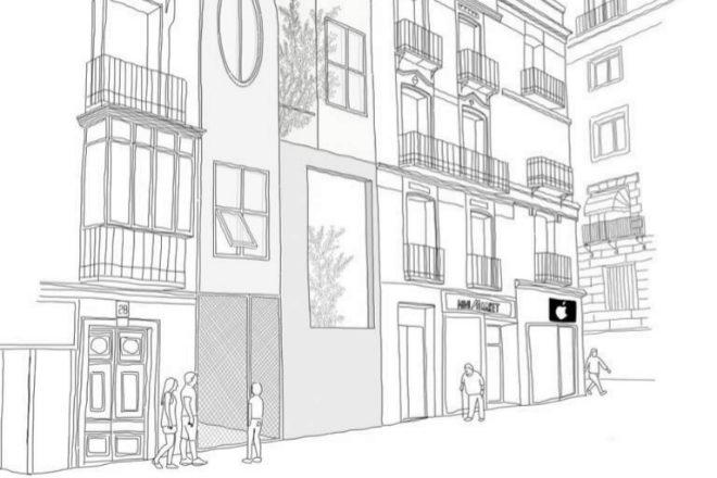 Pisos en el centro de madrid con tintes de casas de pueblo for Pisos en el centro de madrid