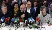 Franz Valli, Michele Berhocohirigoin y Maite Irazoki, mediadores en el...