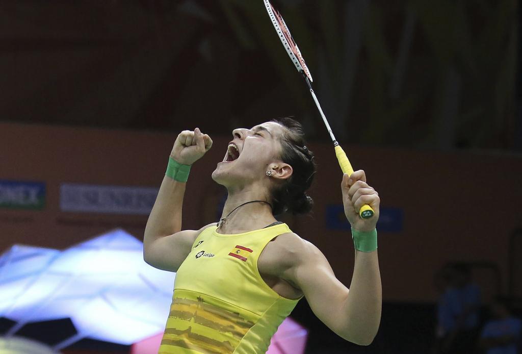 Carolina Marín disputará su primera final tras el oro que consiguió en Río