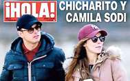 Chicharito y Camila Sodi, en una imagen reciente.